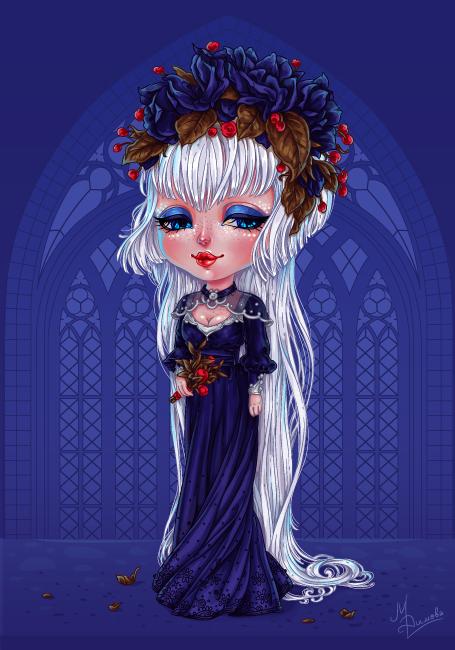 Dark Bride Chibi by dimary