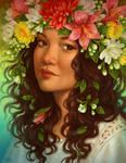 Commission: Garden Fairy