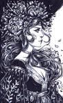 Inktober: Plant Witch