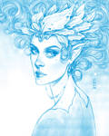 Daily Sketch: Fairy Princess