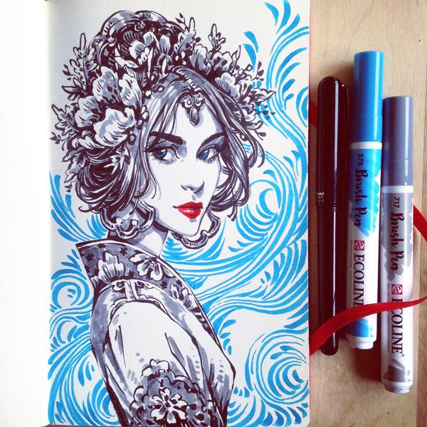 Blue Princess by dimary