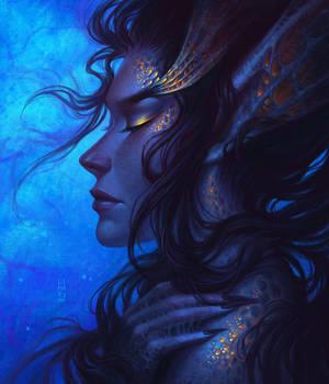 Deep Sea Mermaid by dimary