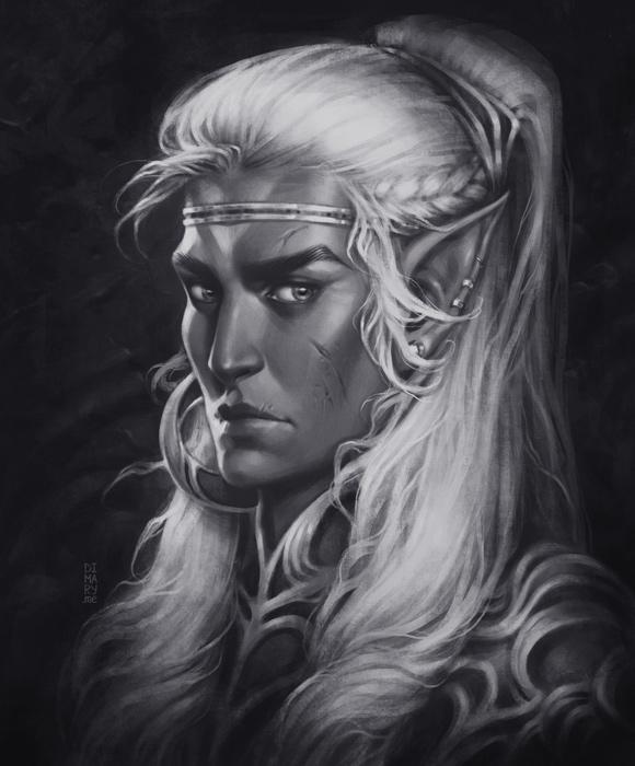 Dark Elf by dimary