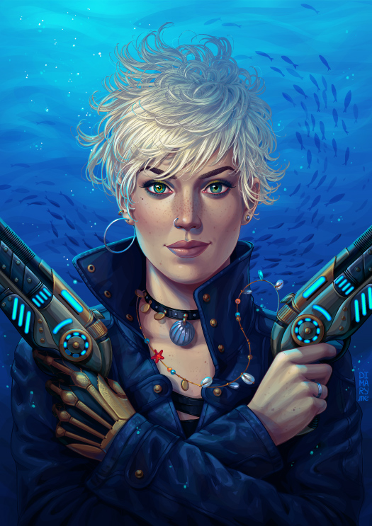Commission: Jonny 'Cybernautica' by dimary