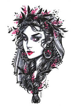 Inktober: Sage Witch