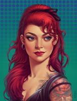 Commission: Svetlana_portrait by dimary