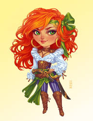 Commission: Redmane Chibi by dimary