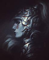 Daily sketch: Warrior Lady