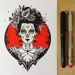 Ink Death Maiden