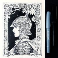 Ink Knight Maiden