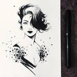 Ink Fashion Girl