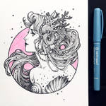Ink Sea Maiden