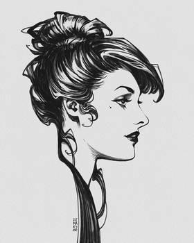 Black Ink Lady