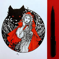 ImageOfMaiden InFairytales: Little Red Riding Hood