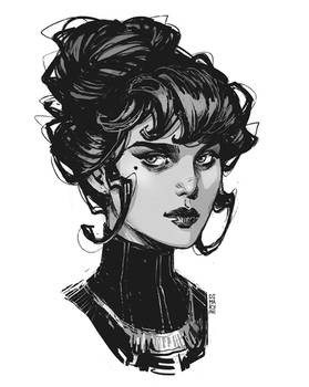 Daily sketch: Victorian Ink