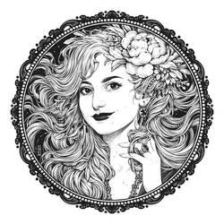 Commission: Portrait of Anna
