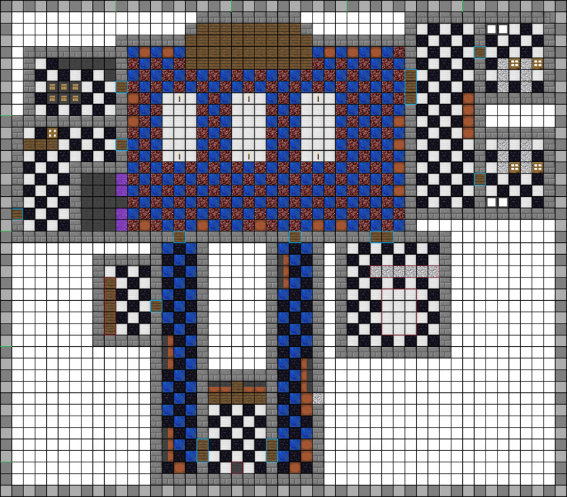Blueprint Fnaf Minecraft Map