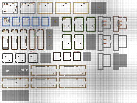 FNaTI 2 - Room blueprints