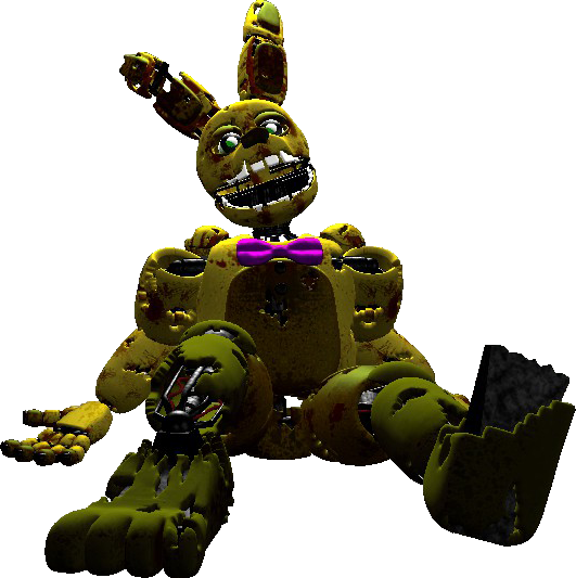 Withered Spring Bonnie crouch - GMod Killer Age by ...