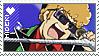 Hideki Stamp by Spazzly