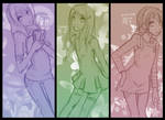 Girls of Fudomine