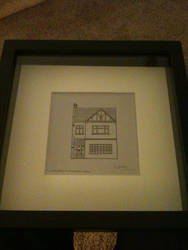Finished House Drawing Commision