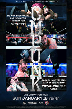 CM PUNK IS BACK TO WWE - ROYAL RUMBLE 2015