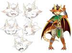 Dragonsona Reference Sheet