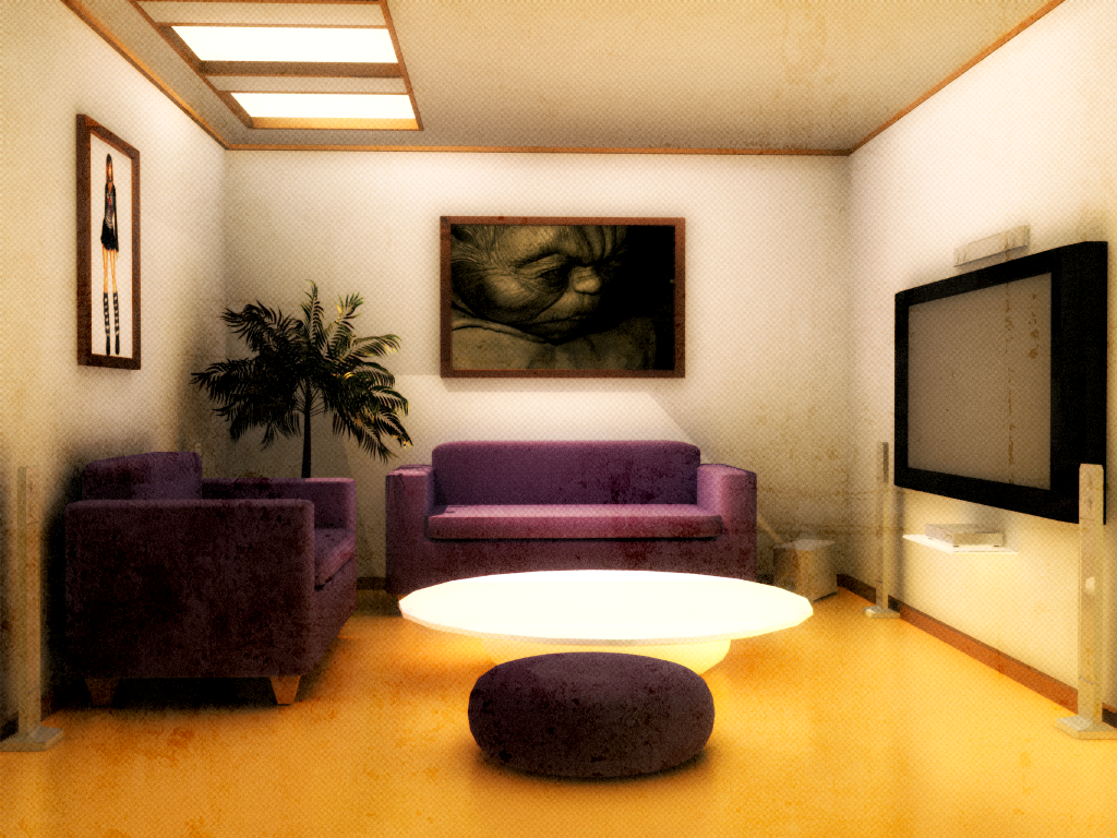 Living Room Experiment by Flexpoint