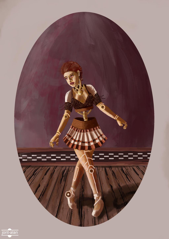 bailarina steampunk by jont-alan