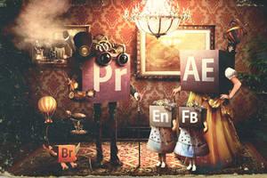 Adobe Family. Distant relatives