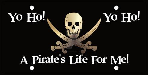 Pirate Car Tag