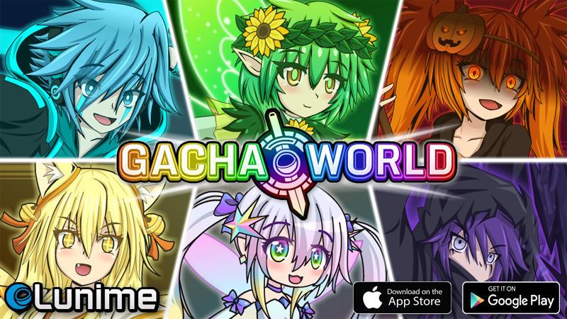 Gacha World Banner