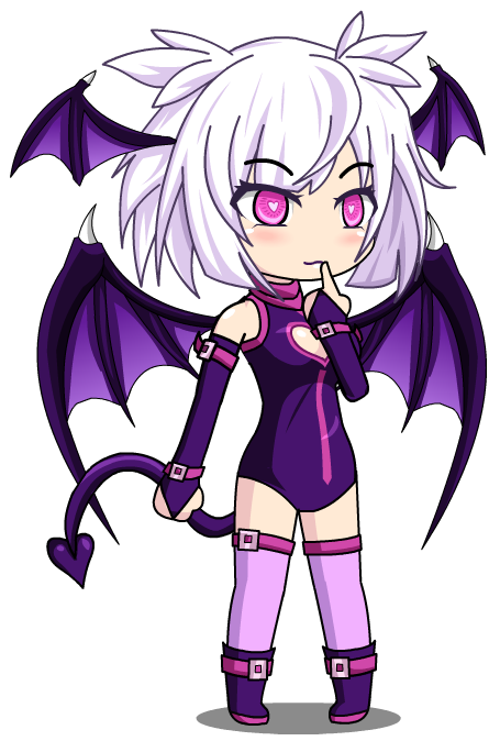 Succubus Lilith Gacha World By Lunimegames On Deviantart