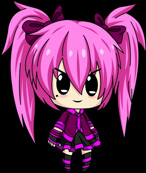 Anime Hairstyles Cosplay >> Magy Chibi [Gacha Studio] by LunimeGames on DeviantArt