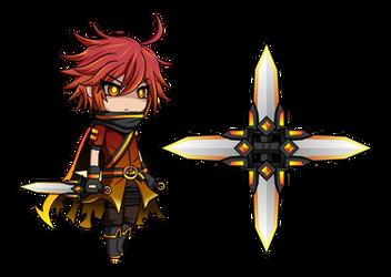 Avenger Reed [Anime Fidget Spinner] by LunimeGames