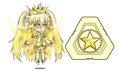 Starlight Ellie [Anime Fidget Spinner] by LunimeGames