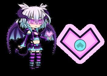 Lovely Lunith [Anime Fidget Spinner] by LunimeGames