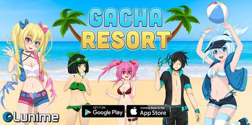 Gacha Resort Banner by LunimeGames