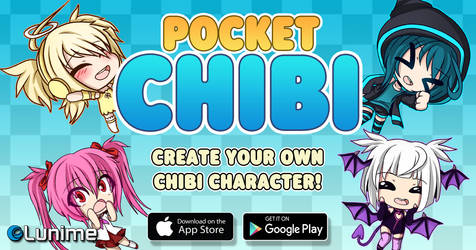 Pocket Chibi Banner by LunimeGames