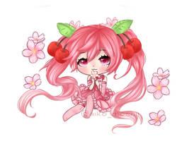 Cherry Blossom Edit by LunimeGames