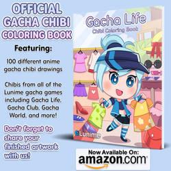 OFFICIAL GACHA CHIBI COLORING BOOK