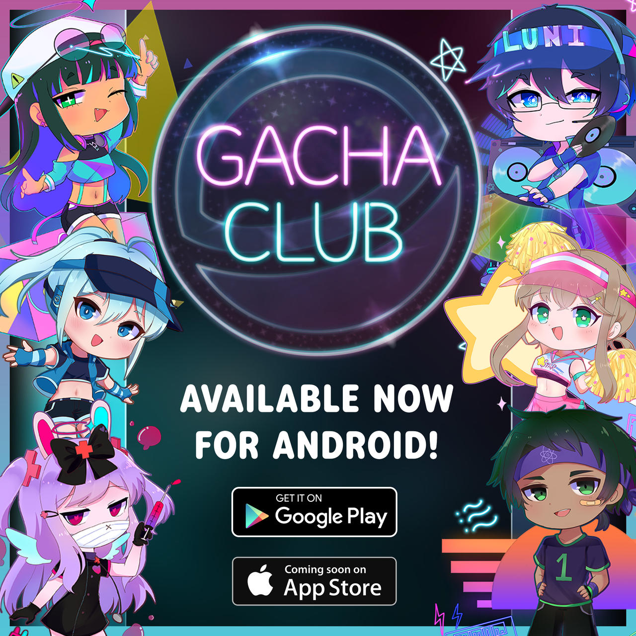 Gacha Club Available Now!