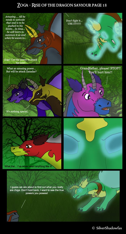 Zoga - Rise of the dragon saviour -page 18 by SilverShadowfax