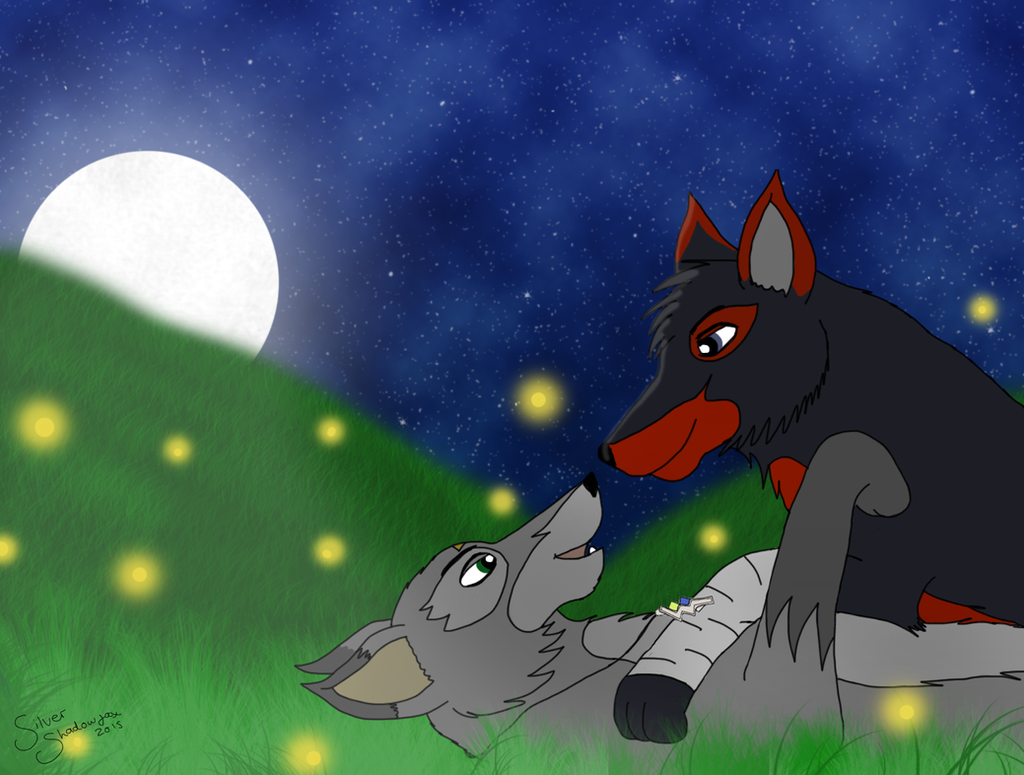 Eternal love - Silver and Nootau by SilverShadowfax