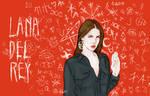 Lana del Rey witch