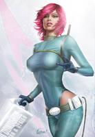 Space Girl Vera by Eamonodonoghue