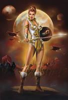 Teela Heroic Captain of the Guard by Eamonodonoghue