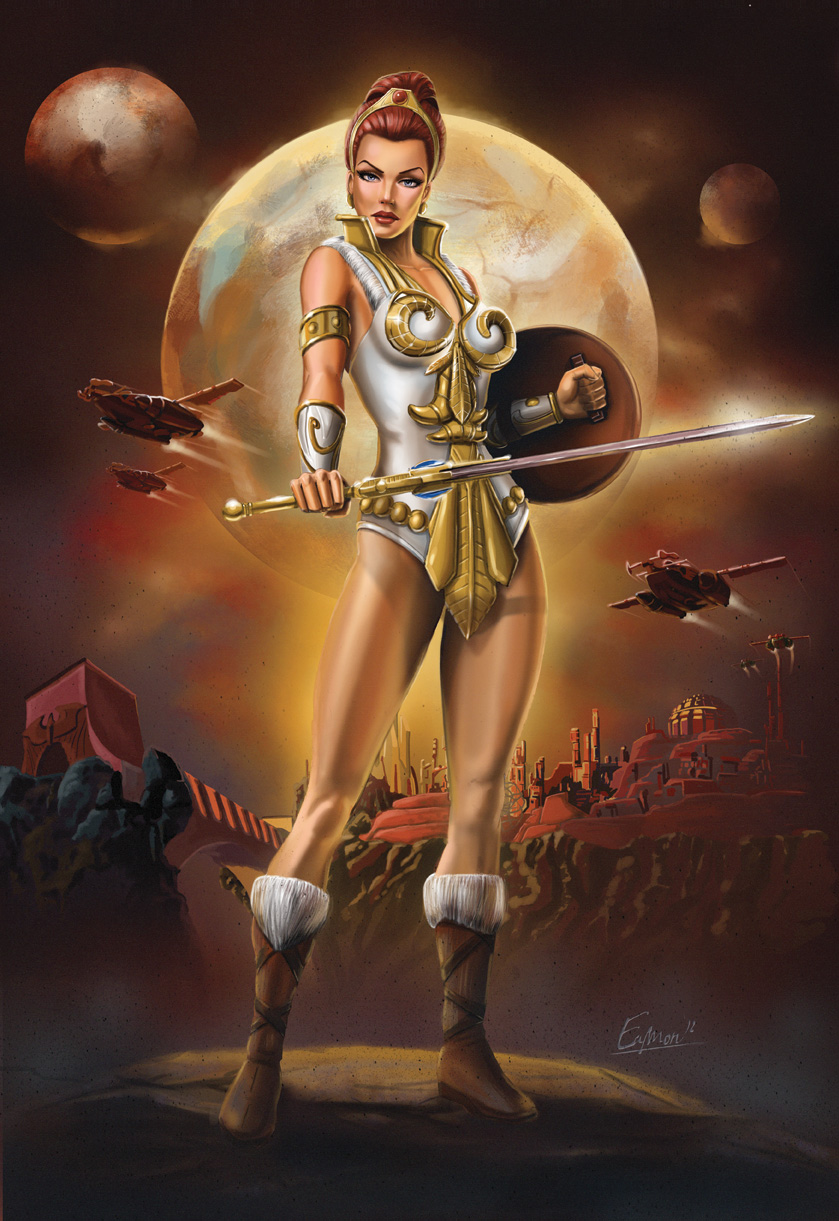 Teela Heroic Captain of the Guard by Eamonodonoghue