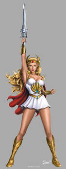 She-Ra 30th Anniversary SDCC 2014 Standee